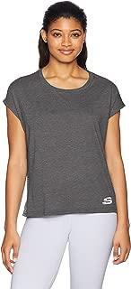 Skechers Women's Cropped Drap Short Sleeve Tee