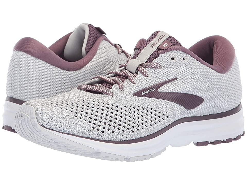 Brooks Revel 2 (Grey/White/Arctic Dusk) Women