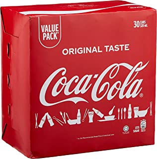 Coca-Cola Original Taste, 320 ml (Pack of 30)