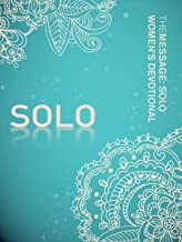 The Message: SOLO Women's Devotional (Softcover, Aqua)