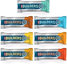CLIF BAR - BUILDERS Protein Bar Variety Pack, 20 Grams of Protein, Helps Build & Repair Muscles, Replenishes Energy, Zero ...