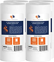 """Aquaboon 4-Pack of 5 Micron 10"""" Big Blue Sediment Water Filter Replacement Cartridge 