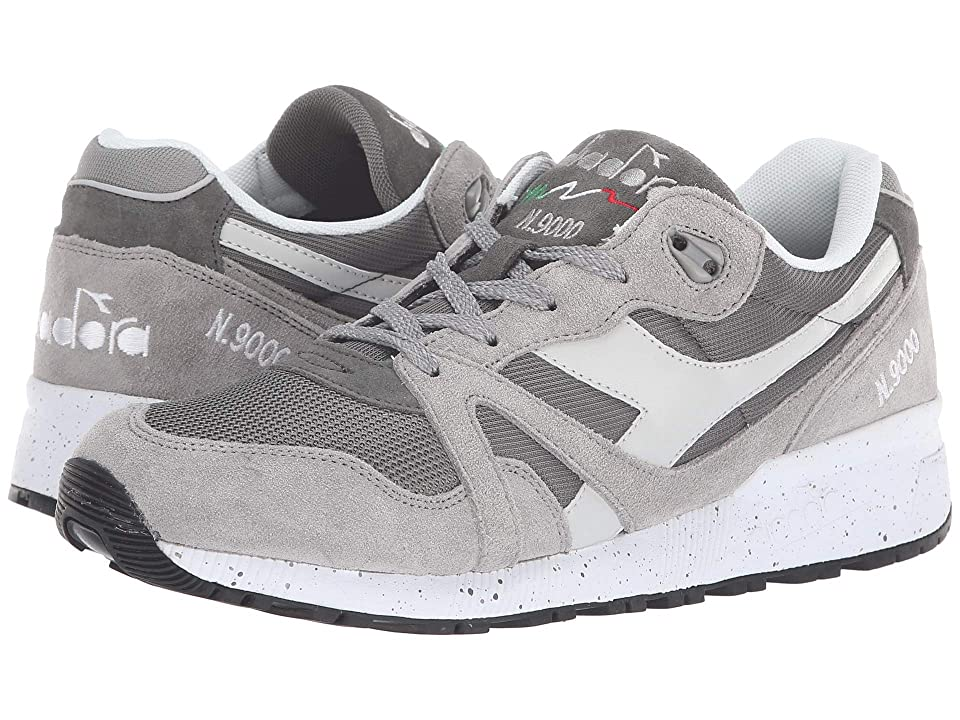 Diadora N9000 Speckled (Gargoyle/Paloma) Athletic Shoes