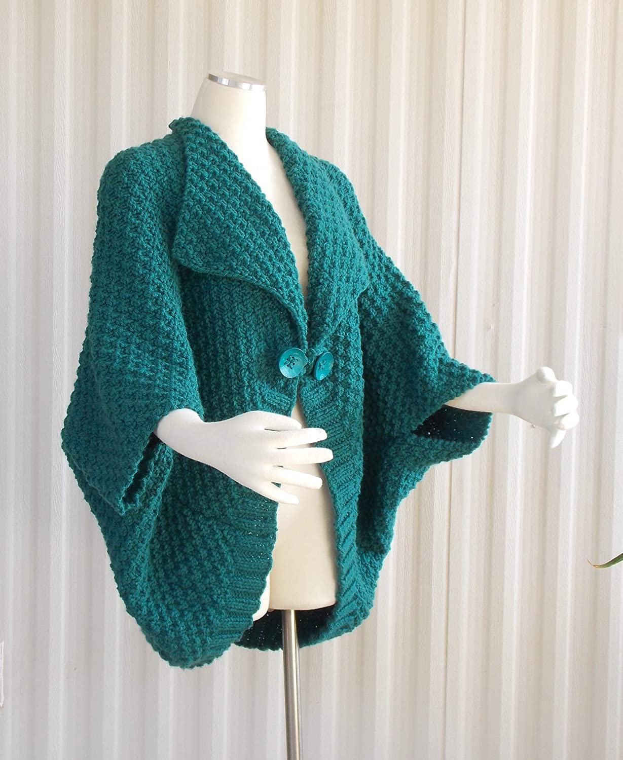 Max 46% OFF Hand KnIt Cape. Knit Bolero Limited Special Price Swe Cardigan Jacket Oversize