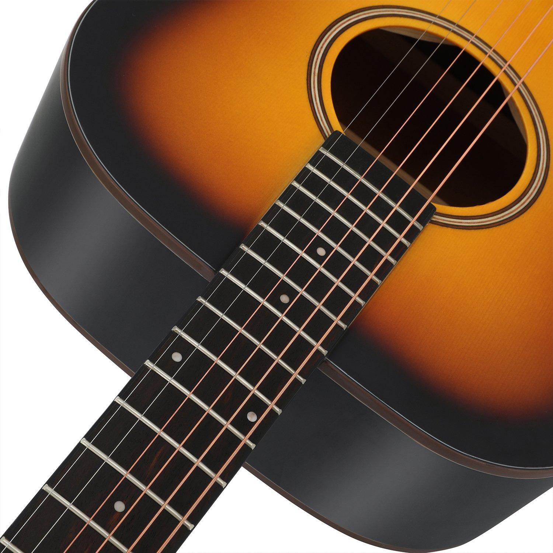 Donner Guitarra acustica Acorazado Paquete de 41 pulgadas para ...
