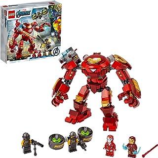LEGO Kit de construcción Marvel Vengadores 76164 Anti-Hulk de Iron Man vs. Agente de A.I.M. (456 Piezas)