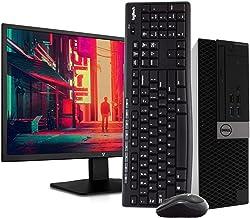 "$649 » Dell 5040 Small Form PC Desktop Computer - Intel i5-6500, 16GB RAM, 2TB HDD, Windows 10 Pro, New 23.6"" FHD V7 LED Monitor, New 16GB Flash Drive, Wireless Keyboard & Mouse, DVD, HDMI, WiFi (Renewed)"