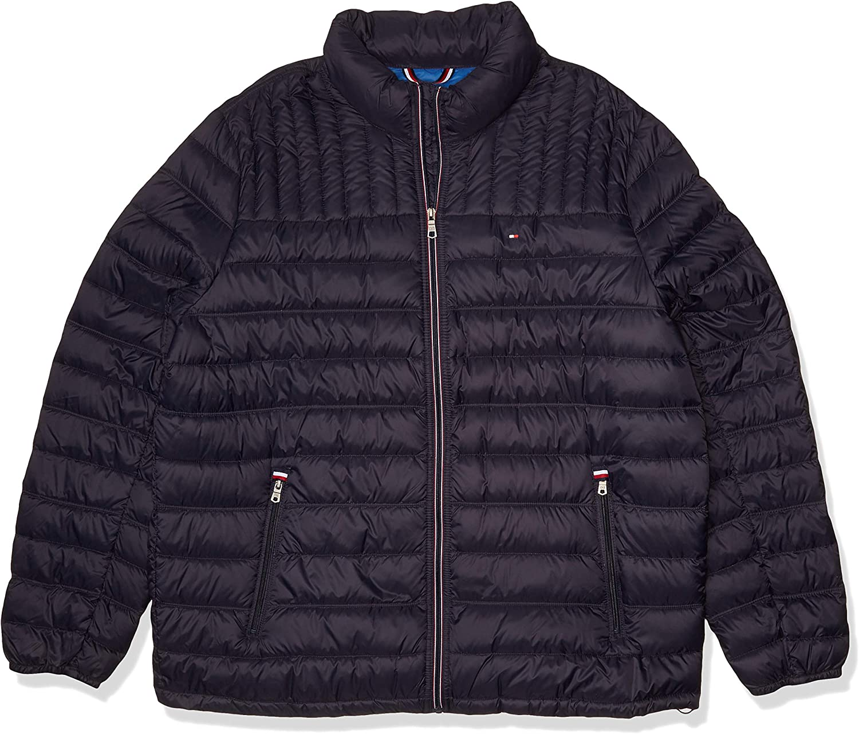 Tommy Hilfiger Men's Lightweight Cotton Hooded Anorak Jacket
