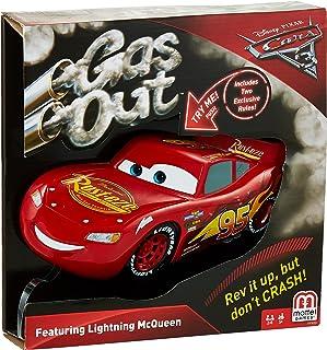 Mattel Games FFK03 887961487459 Mattel Games Gas Out Disney/Pixar Cars Lightning McQueen Card Game ,Lighting Mcqueen