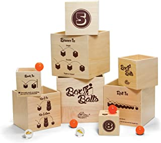 Fat Brain Box and Bouncy Balls Toy