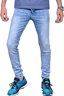 Mens Skinny Jeans (Ice, 36)
