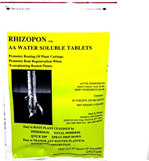 Rhizopon AA Water Soluble Tablets – Rooting Hormones – 20 Tablets by Growers Solution