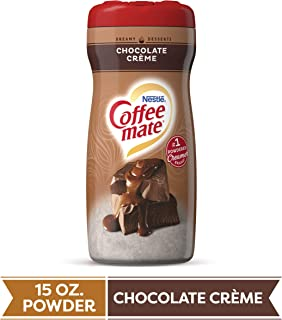COFFEE MATE Chocolate Crème Powder Coffee Creamer 15 Oz. Canister | Non-dairy, Lactose Free Creamer