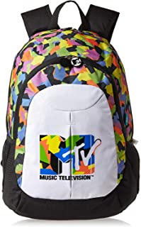 Nickelodeon Mtv School Backpack for Boys - Multi Color