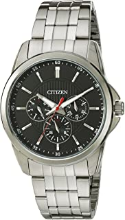 Citizen Men`s Quartz Stainless Steel Watch with Day/Date, AG8340-58E