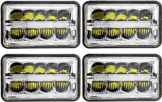 DakRide 4X6 Led Headlights DOT Approved (4PCS)