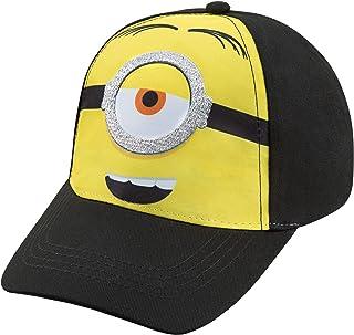 قبعة بيسبول للأولاد من مينيونز – لعمر 4-7 سنوات أسود/أصفر