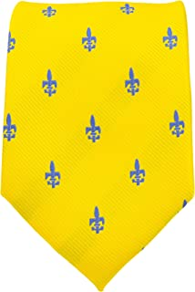 Fleur De Lis Ties for Men - Woven Necktie - Mens Ties Neck Tie by Scott Allan
