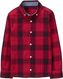 Boys' Little Long Sleeve Button Up Shirt