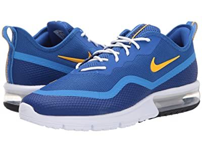 Nike Air Max Sequent 4.5 (Game Royal/University Gold) Men