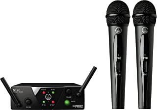 AKG Pro Audio Wireless Microphone System (MINI2VOC-US25A/C)