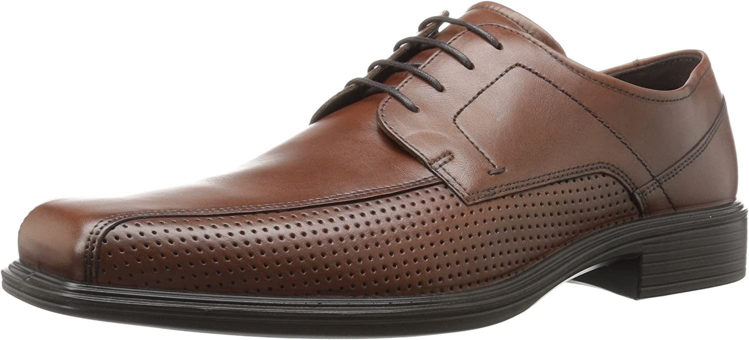 ECCO Men's Johannesburg Perforated Tie Oxford