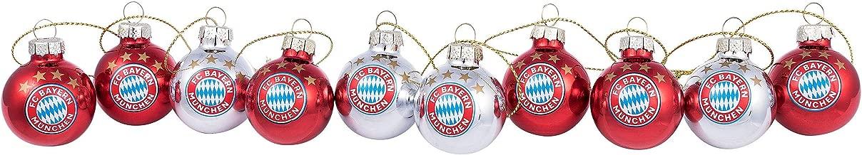 """4er Set Weihnachtskugeln Christbaumkugeln /""""Fahne/"""" Hertha BSC Berlin"""