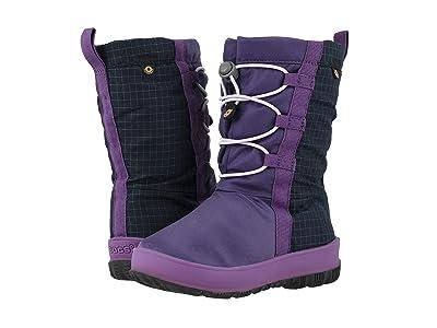 Bogs Kids Snownights (Toddler/Little Kid/Big Kid) (Purple Multi) Girls Shoes