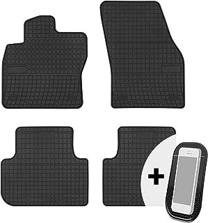 Gummimatten Auto Fußmatten Gummi Automatten Passgenau 4 teilig Set   passend für VW Tiguan 2 ab 2016