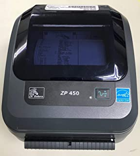 Zebra ZP 450 Label Thermal Bar Code Printer ZP450-0501-0006A (Renewed)
