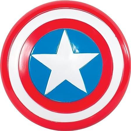 Avengers - Escudo de Capitán América para niño, Talla única infantil (Rubie's 35640)