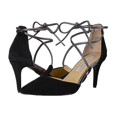 Kristin Cavallari Opel Lace-Up Pump (Black Velvet) High Heels