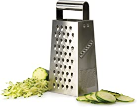 RSVP International Endurance® (GR-900) Four-Sided Stainless Steel Box Grater, 9.25"