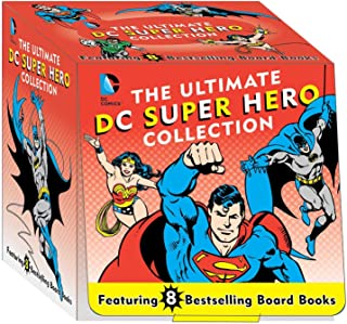 The Ultimate DC Super Hero Collection: 8 Bestselling Board Books (14) (DC Super Heroes)