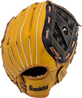 Franklin Sports Baseball Glove - Left and Right Handed Baseball and Softball Fielding Glove - Synthetic Leather Field Master Baseball Glove
