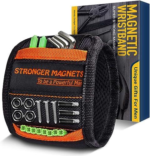 Cadeau Homme Original Bracelet Magnétique - Cadeau Fete des Peres Gadget Insolite Utile, Bricolage Outillage Gadgets ...