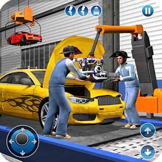 Deportes Coche Fabricante Fábrica 2018 Coche Mecánico Simulador & Auto Constructor Juegos