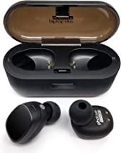Photive TWS-01 True Wireless Earbuds Stereo Bluetooth Headphones with Charging Case. Premium Sound - Secure Fit - Easy to Pair