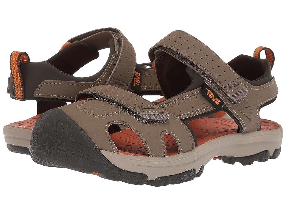 Teva Kids Hurricane Toe Pro (Little Kid) (Walnut) Boys Shoes