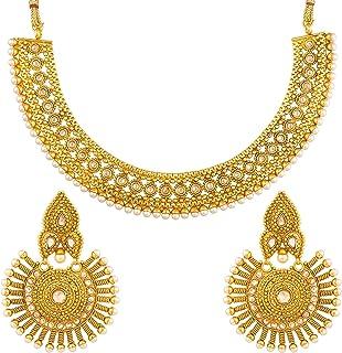 cc696295cf29a Women's Jewellery Sets priced ₹500 - ₹1,000: Buy Women's Jewellery ...