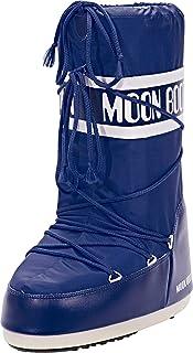 Tecnica Moon Boot Nylon , Unisex Children Outdoor Snow Boots, Women's Snow Boots 14004400 Blu 2.5/5 UK, 35/38 EU
