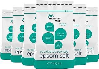 Mountain Falls Epsom Salt, Eucalyptus Scented, 3 Pound (Pack of 6)