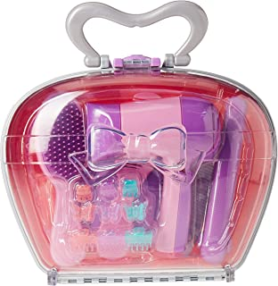 Play Circle by Battat – Pink Beauty Shop Hairdressing Set – Mirror, Brush Kit, Working Hair Dryer with Sounds & Air, Salon...