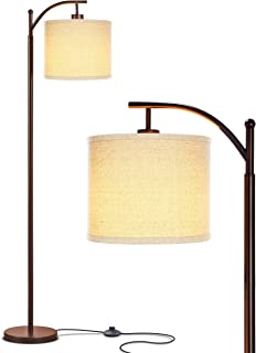 Brightech Montage – Bedroom & Living Room Floor Lamp – Reading Standing..