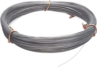 High Carbon Steel Wire, #2B (Smooth) Finish, Full Hard Temper, ASTM A228, 0.037