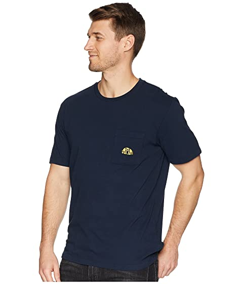 Camiseta North Urban Face bolsillo Well The Loved de Navy qtwrpt
