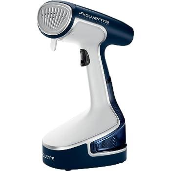 Rowenta DR8095D1 Access Steam Minute - Cepillo vapor de mano de 1500 W, 200 ml, elimina arrugas, olores y desinfecta, calentamiento en 45 seg, accesorio prendas delicadas y gruesas, 11 x 13 x 28 cm