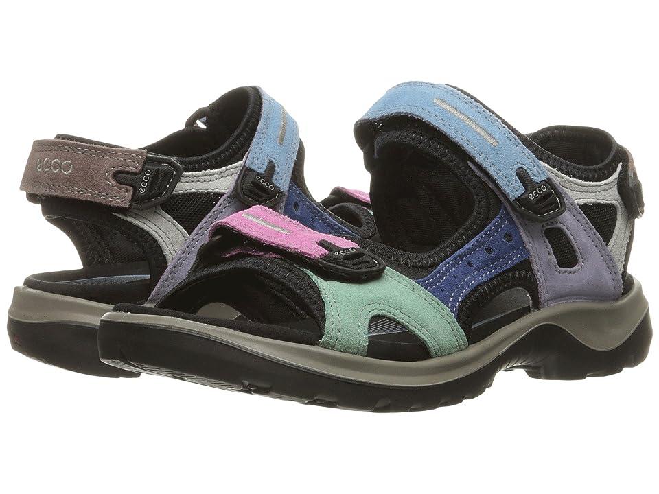 ECCO Sport Offroad Sandal (Multicolor Pastel) Women