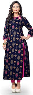 Delisa Women Dress Printed Kurti for Women Formal & Party Wear 183-8