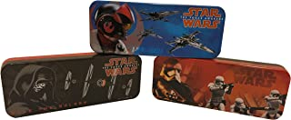 Set of 3 - Star Wars Episode 7 Tin Pencil Cases